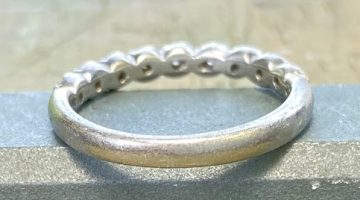 結婚指輪 クリーニング